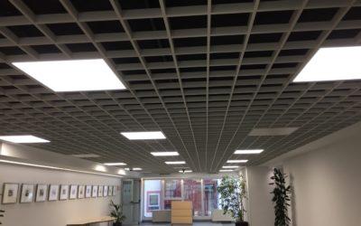 Sistema inteligente de iluminación en oficinas