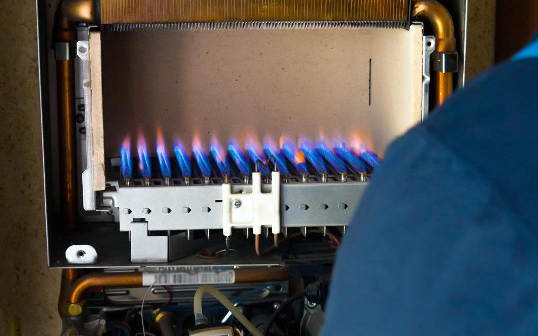 Inspección instalación y caldera gas