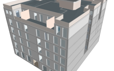 Calificación energética de un edificio en Madrid