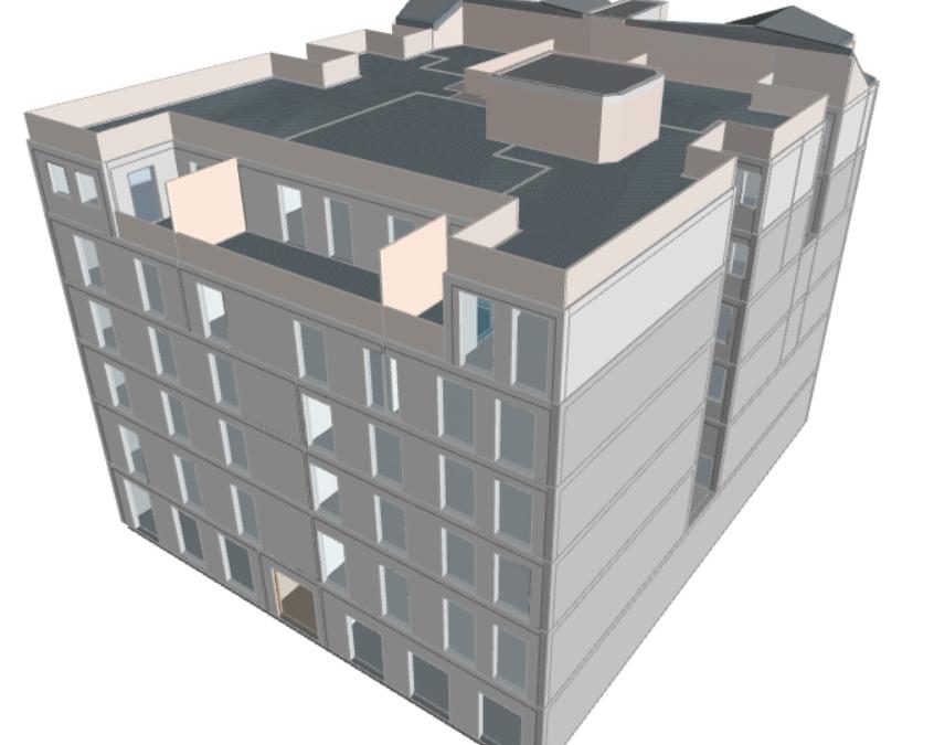 Calificación energética de edificio