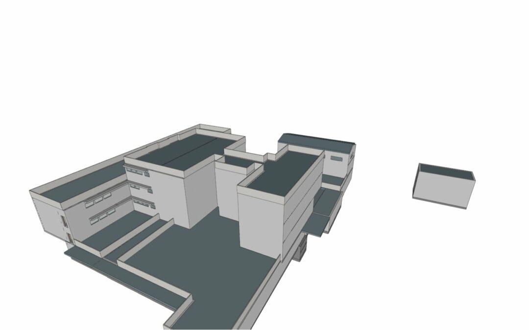 Modelado BIM edificio