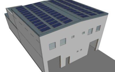 Dimensionamiento de una instalación fotovoltaica para nave industrial