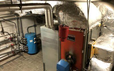 Inspección de Eficiencia Energética de las instalaciones térmicas de una parroquia