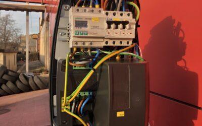 Legalización de una estación de recarga para vehículos eléctricos