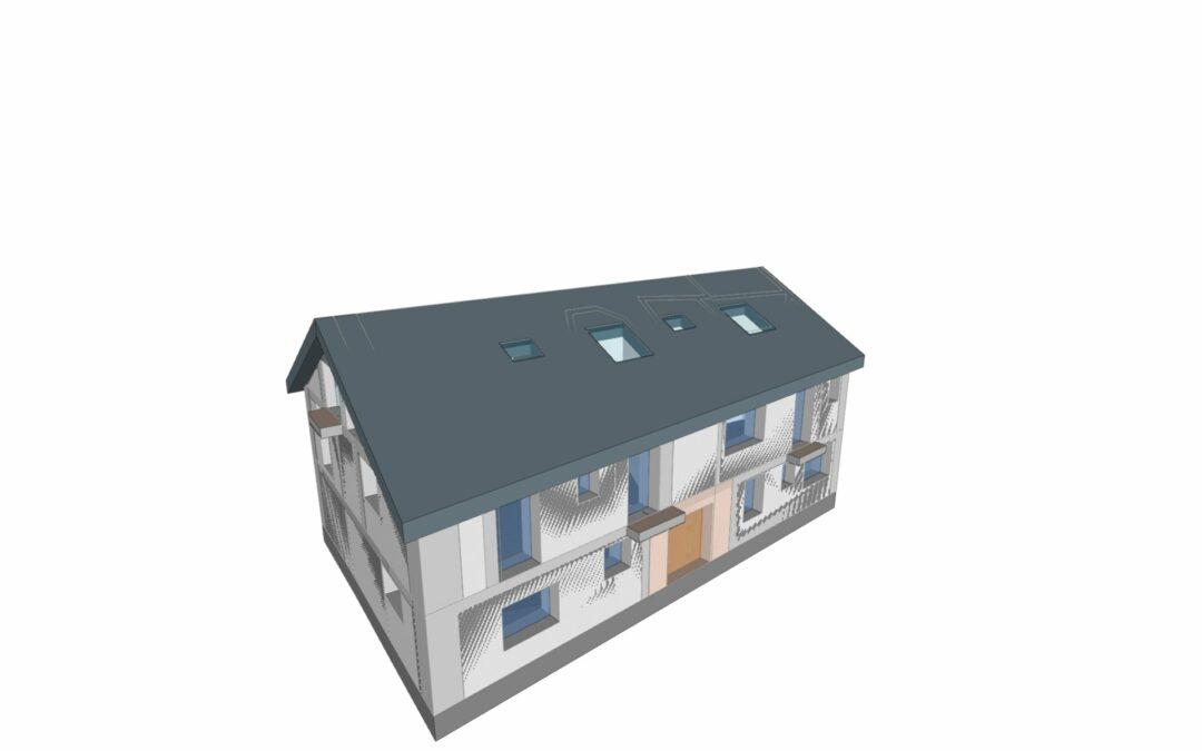 Certificación energética de una vivienda rústica para turismo rural