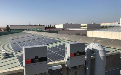 Puesta en servicio de un sistema de autoconsumo fotovoltaico industrial