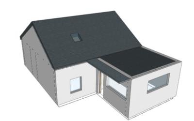 Certificado energético para vivienda unifamiliar reformada